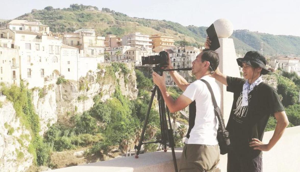 Televisione giapponese incantata dalla Calabria Girato un documentario tra Scilla e Tropea