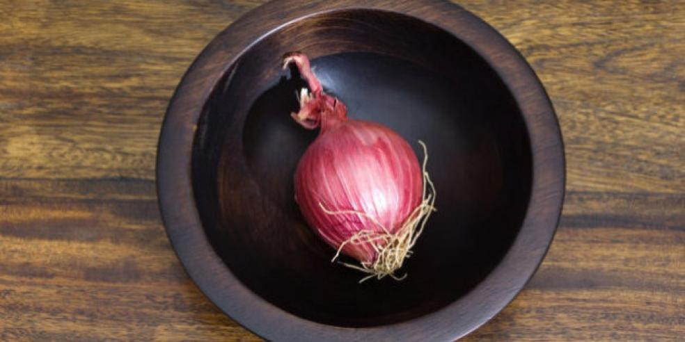 Le cipolle non vanno conservate in frigo e tenute lontano dalle patate